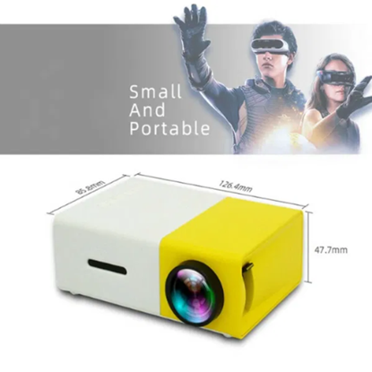 Снимка на Проектор Excelvan YG300 Домашно кино HDMI 320x240 Native