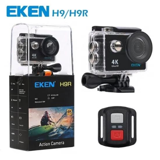 Picture of Екшън камера EKEN H9R Wifi Full HD 4K 25fps 2.7K, Черен с 12м. гаранция