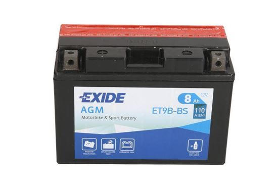 Picture of YT9B-BS EXIDE
