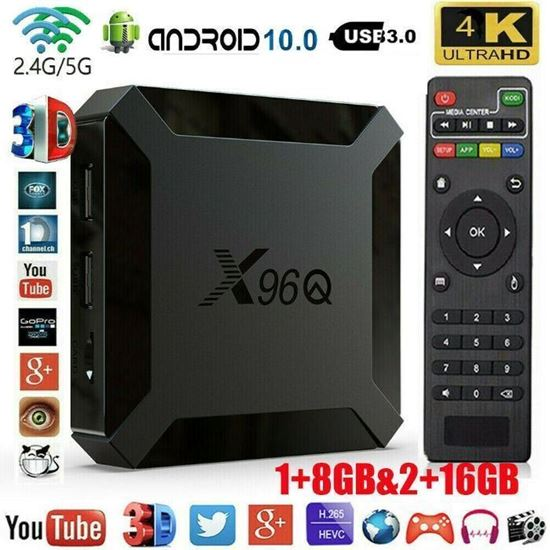 Picture of Тв бокс X96Q CPU Allwinner H313 OS: Android 10 2/16GB