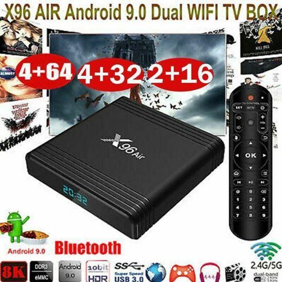 Снимка на Смарт ТВ Бокс X96 AIR Amlogic S905X3, 2GB Ram, 16GB
