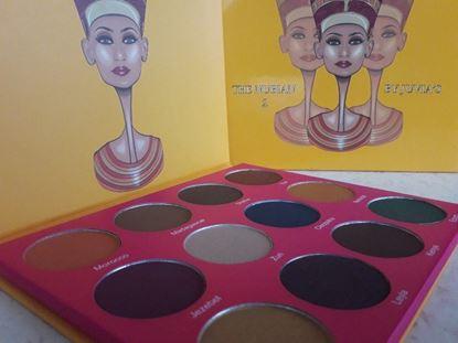 Picture of нова палитра сенки за очи Джувиа Нубиан 2 The Nubian 2 Palette