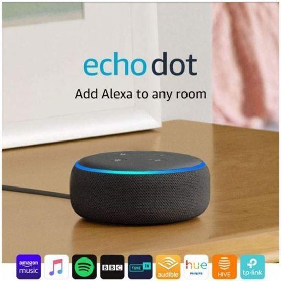 Picture of Преносима смарт тонколона Amazon Echo Dot 3