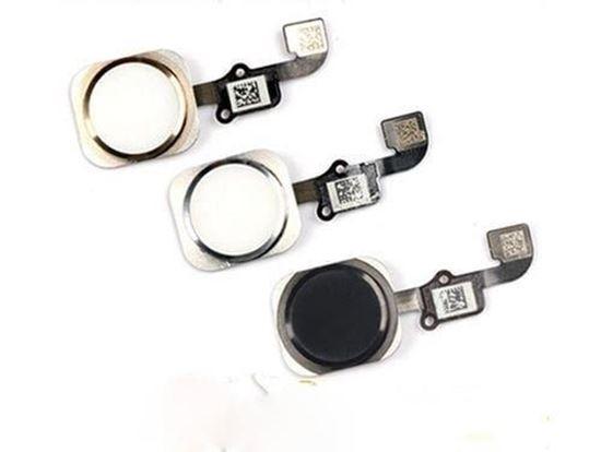 Снимка на Ново Home бутон за Iphone 6 черен