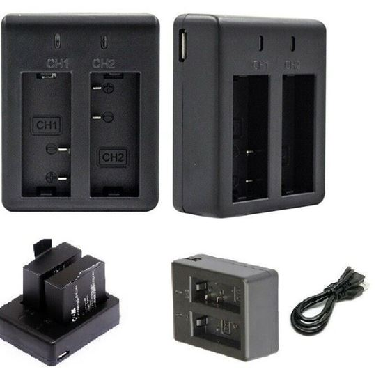 Picture of Оригинална Батерия и Зарядно за екшън камера Eken H9 , SJ сам