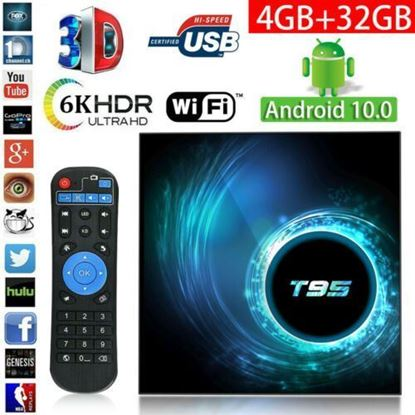 Picture of Тв Бокс T95 H616 Android 10.0 TV Box 2GB + 16GB Quad Core KD HD Media