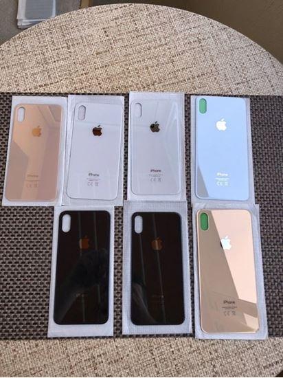 Снимка на Заден Гръб за IPhone XS златен