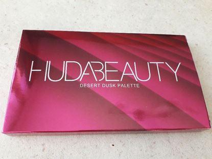 Picture of нова палитра сенки за очи Худа дезърт Huda Beauty Desert Dusk