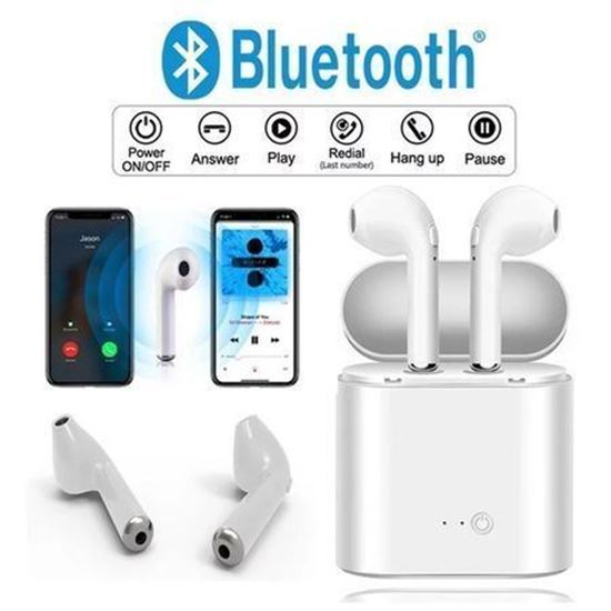 Снимка на Безжични слушалки i12 , bluetooth, Power bank различни цветове