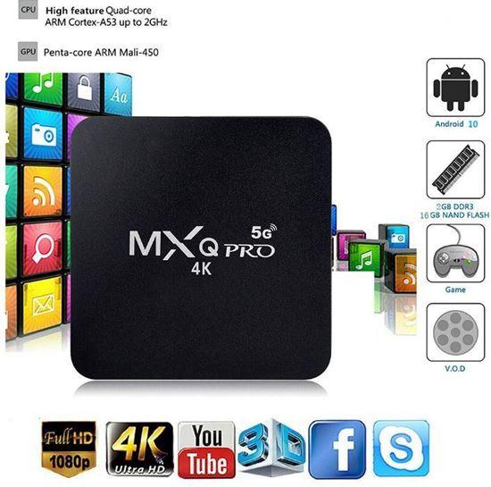 Снимка на TV Box Android MXq Pro 5G 4K 2GB RAM/16GB ROM Вносител евтини боксове