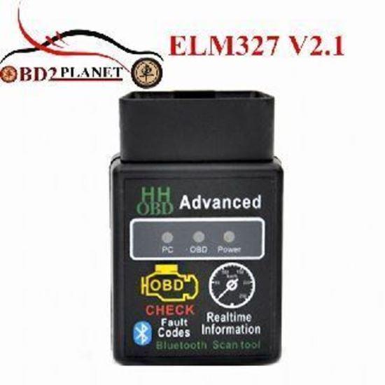 Picture of ELM 327 Bluetooth HH OBD II Безжично устройство за авто диагности