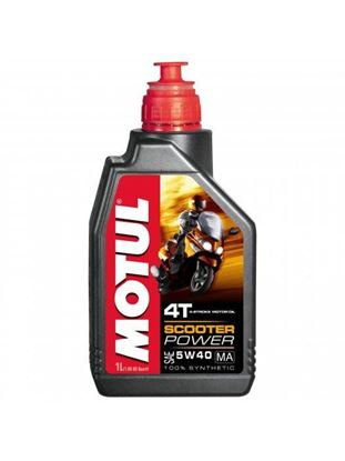 Picture of MOTUL SCOOTER POWER 4T 5W-40 1L