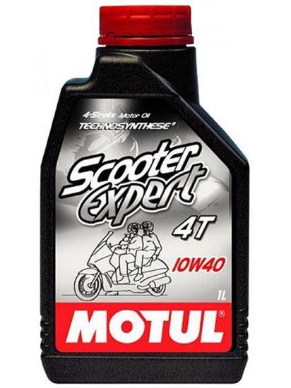 Снимка на MOTUL SCOOTER EXPERT 4T 10W-40 1L