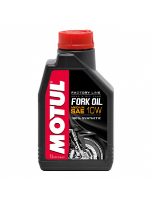 Picture of MOTUL FORK OIL MEDIUM FACTORY LINE 10W 1L
