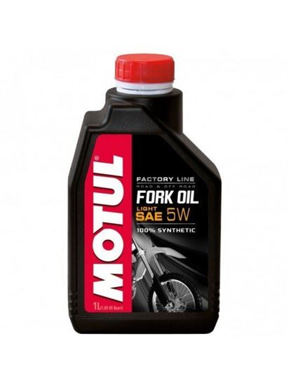 Снимка на MOTUL FORK OIL LIGHT FACTORY LINE 5W 1L
