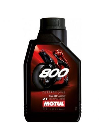 Picture of MOTUL 800 2T FACTORY LINE ROAD RACING 1L