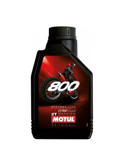Picture of MOTUL 800 2T FACTORY LINE OFFROAD 1L
