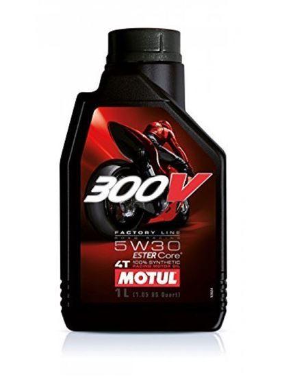 Picture of MOTUL 300V 4T FACTORY LINE 5W-30 1L