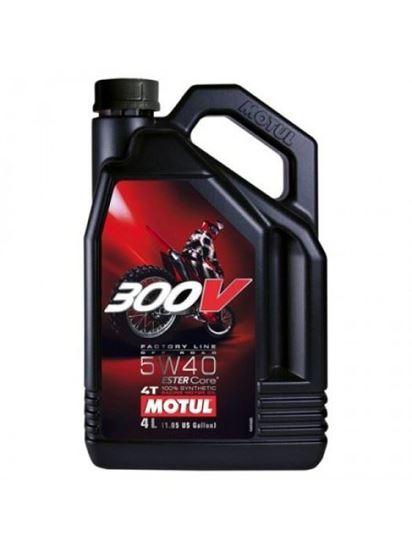 Picture of MOTUL 300V OFFROAD 5W40 4L